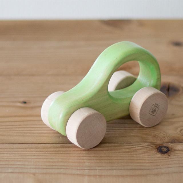 木製押し車緑