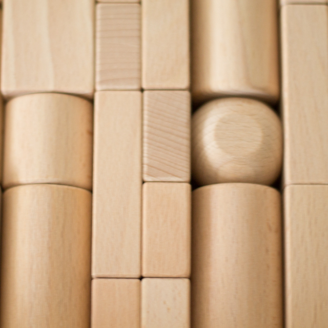 積み木パーツ円すい型