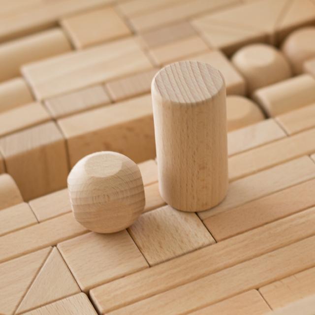 積み木パーツ円柱型