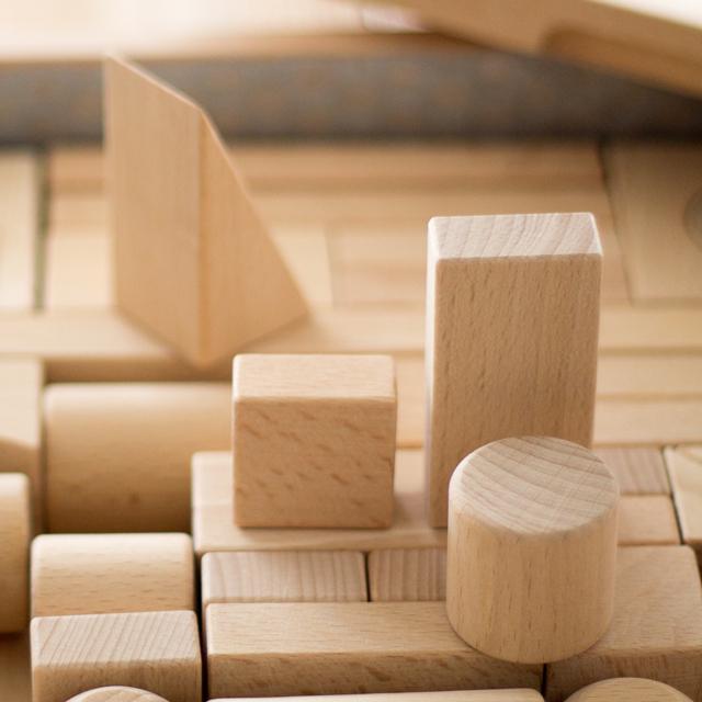 積み木パーツ三角型
