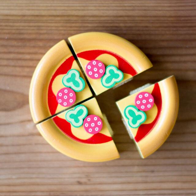 ミニ・ピザ ままごとおもちゃ