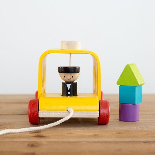 バス運転手人形付き