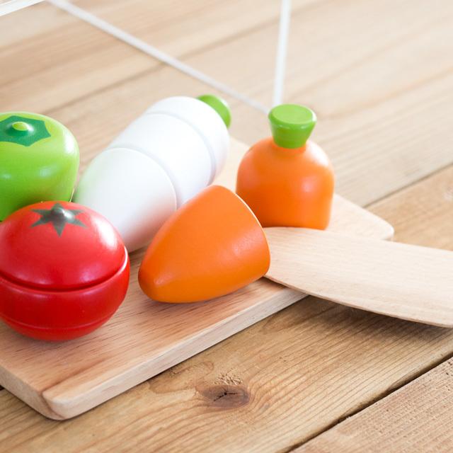 木製おままごと野菜