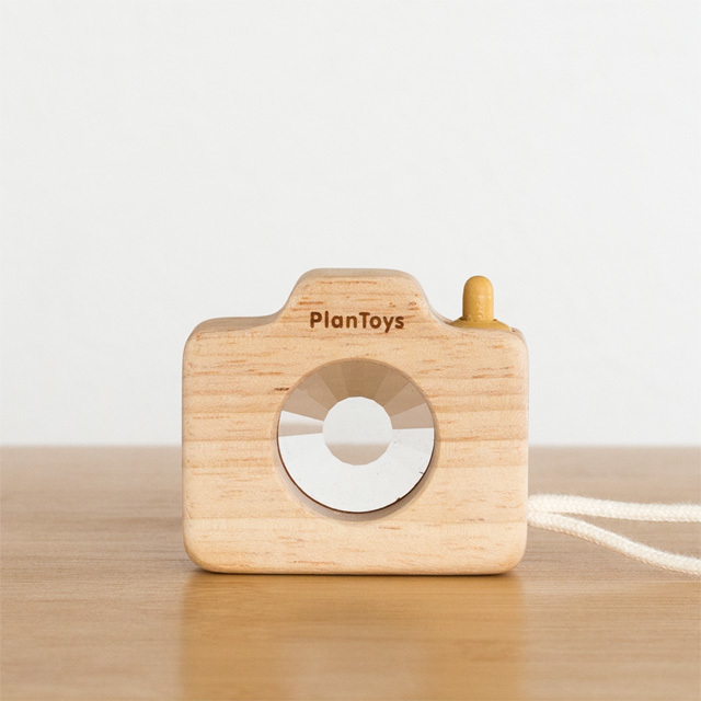 ミニカメラ木製