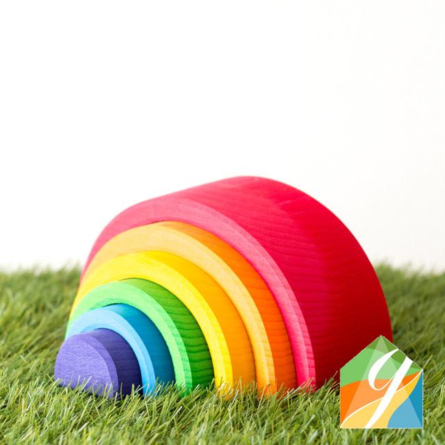 虹色トンネル大