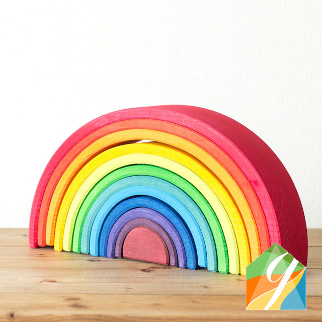 虹色トンネル特大