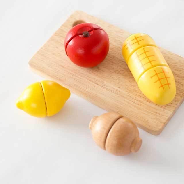 とうもろこし/りんご/レンコン/レモン
