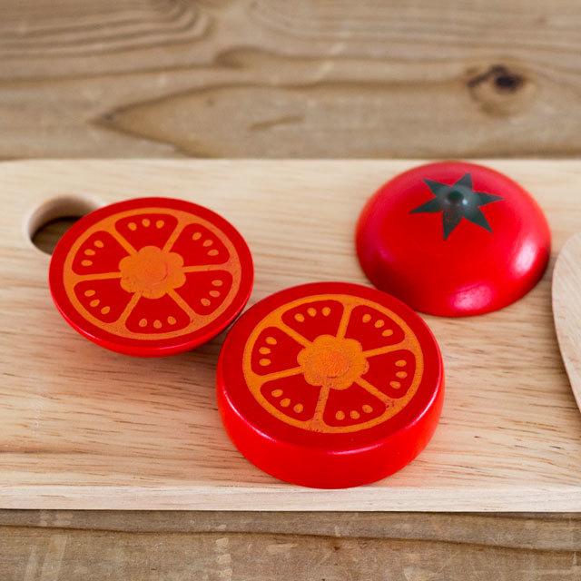 ウッディプッディのトマト断面