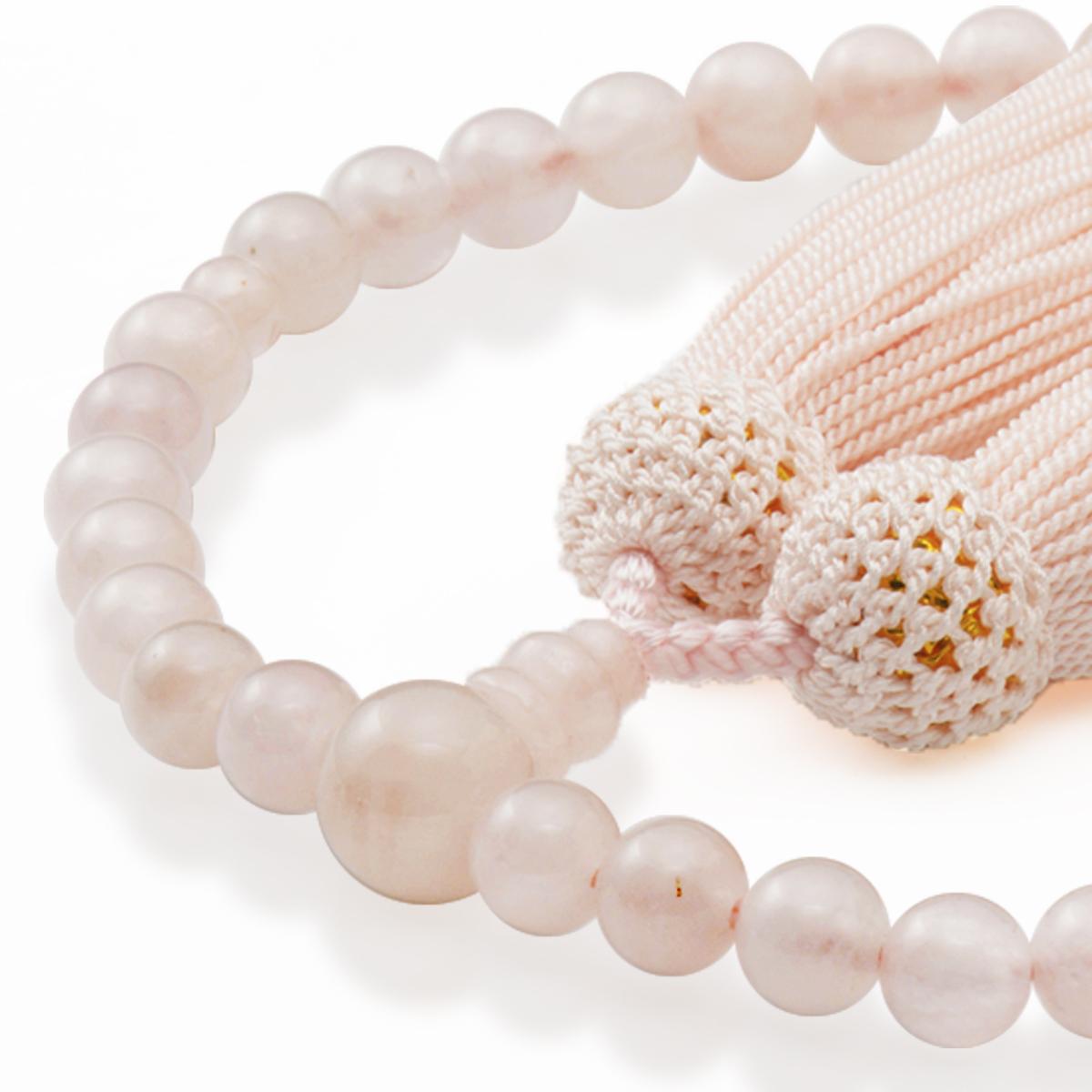 女性用片手数珠 ローズコーツ 共仕立 正松房