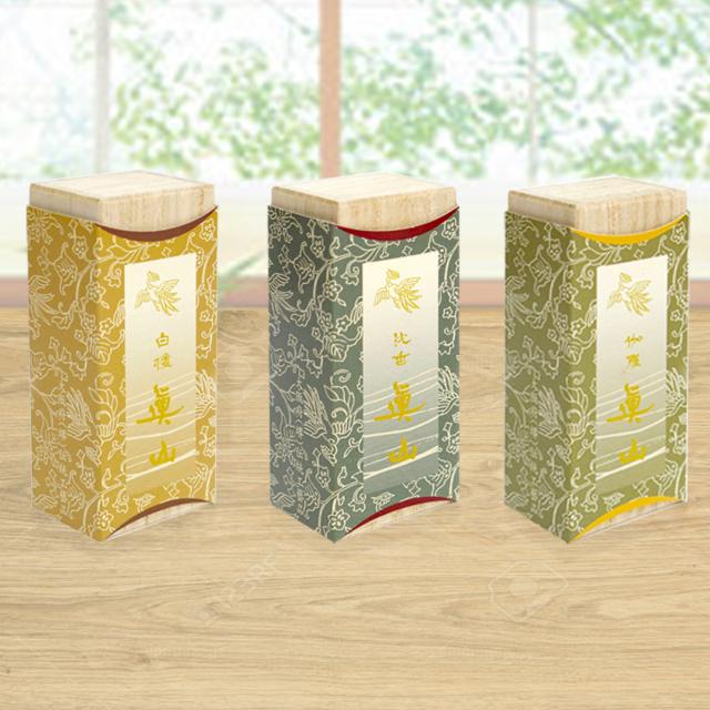 短寸線香 香木3種セット
