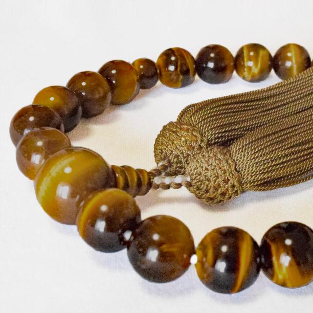 男性用数珠 トラメ石 共仕立 正松房 セカンド