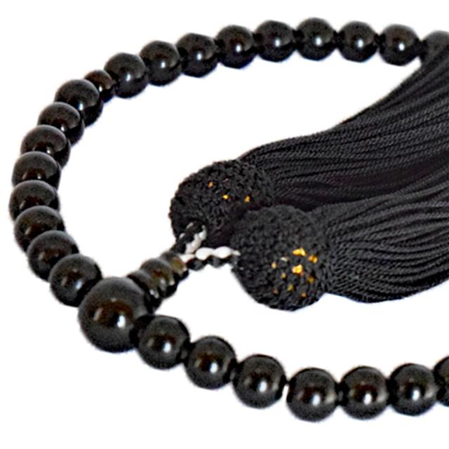 女性用数珠 黒曜石 共仕立 正松房 セカンド