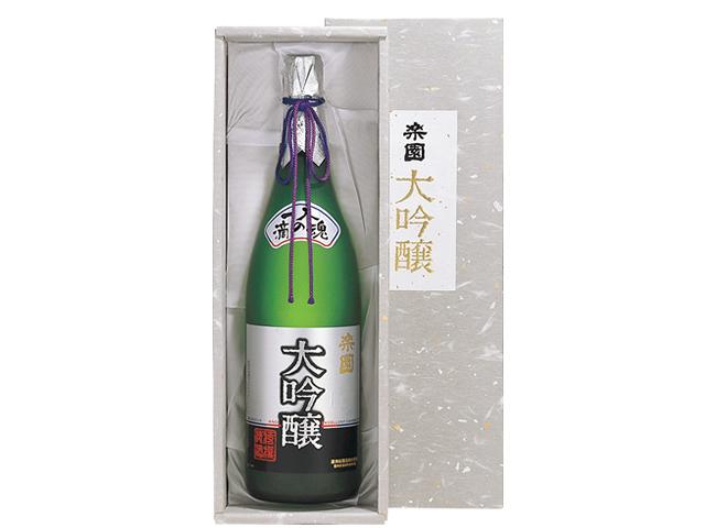 超特撰大吟醸 「楽園」 1.8L瓶 1本(箱入り)