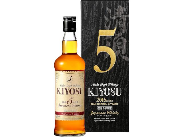 【2016年度蒸留】 愛知クラフトウイスキー キヨス 45度 500ml瓶