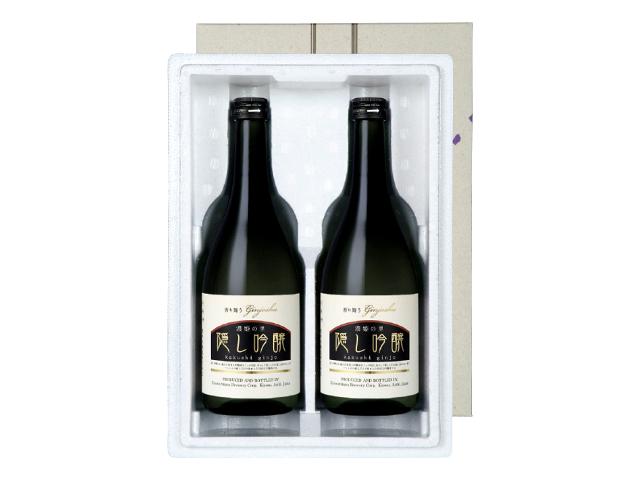 【贈答用(KT-22)】 「濃姫の里 隠し吟醸」 720ml瓶 2本セット(箱入り)