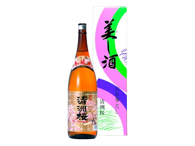 本醸造 清洲桜 1.8L瓶(カートン)