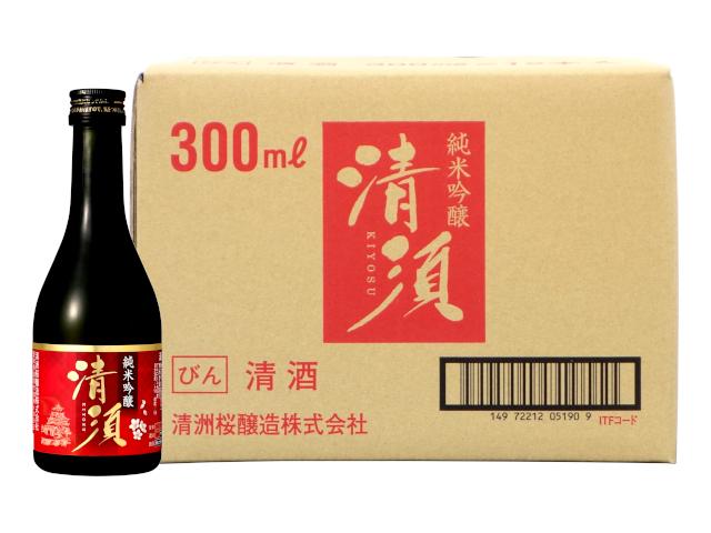 純米吟醸 清須 300ml瓶(ケース)