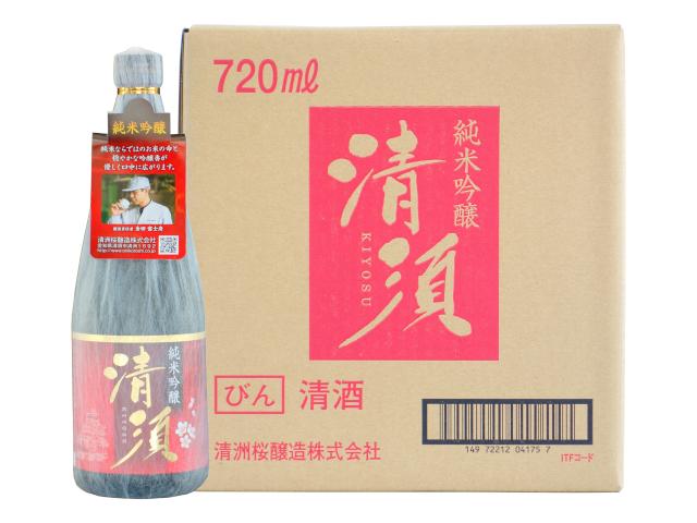 純米吟醸 清須 720ml瓶(ケース)