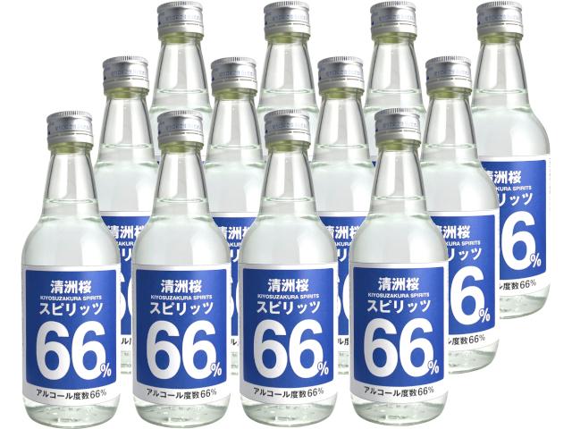 清洲桜 スピリッツ 66% 360ml瓶