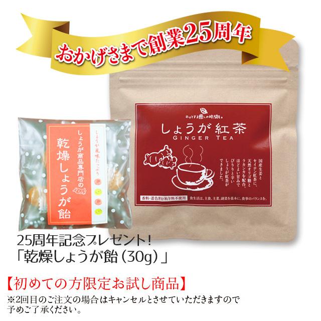 しょうが紅茶(7本)【初めての方限定お試し商品】※宅配便・代金引換不可