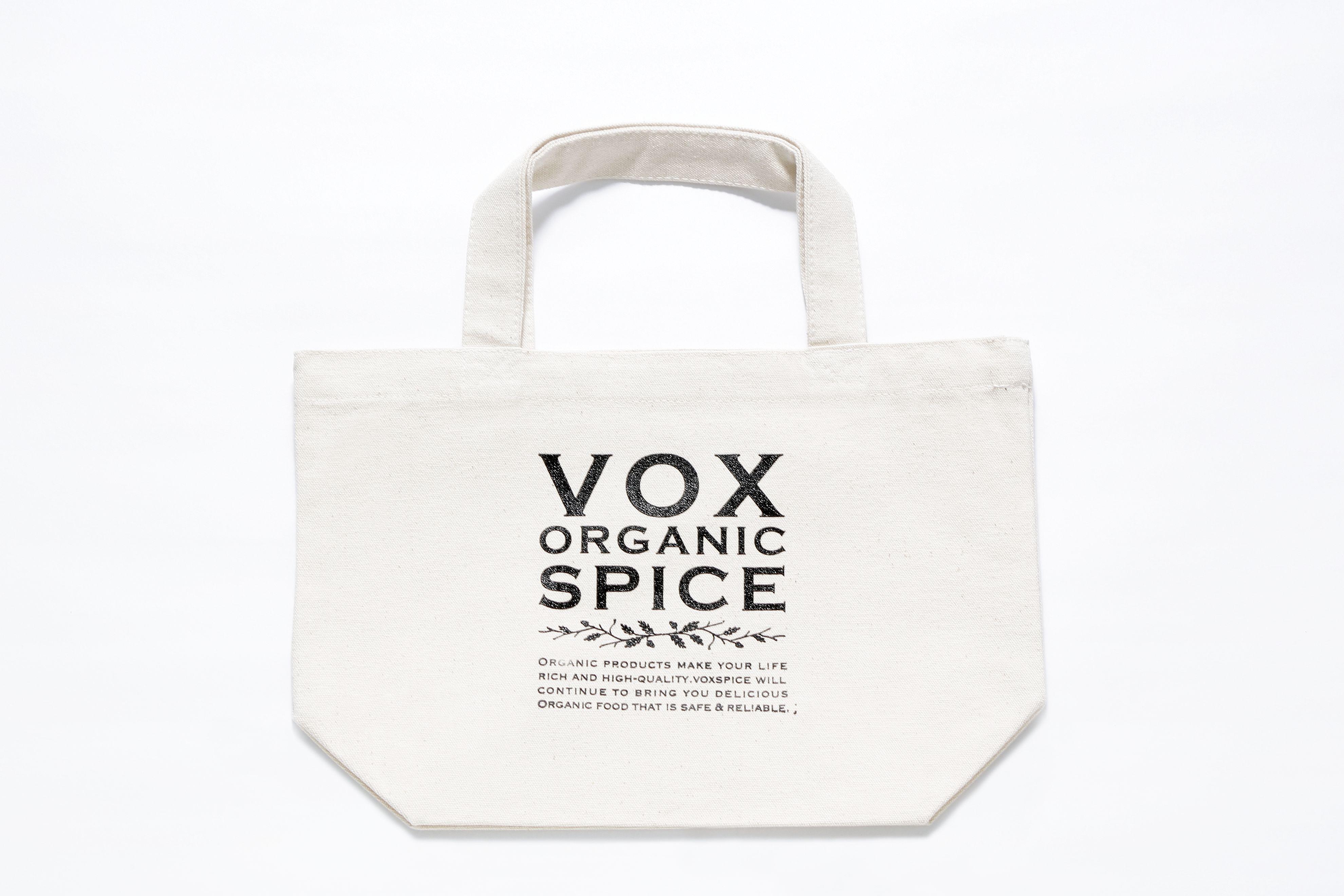 【数量限定】VOXSPICE トートバッグS