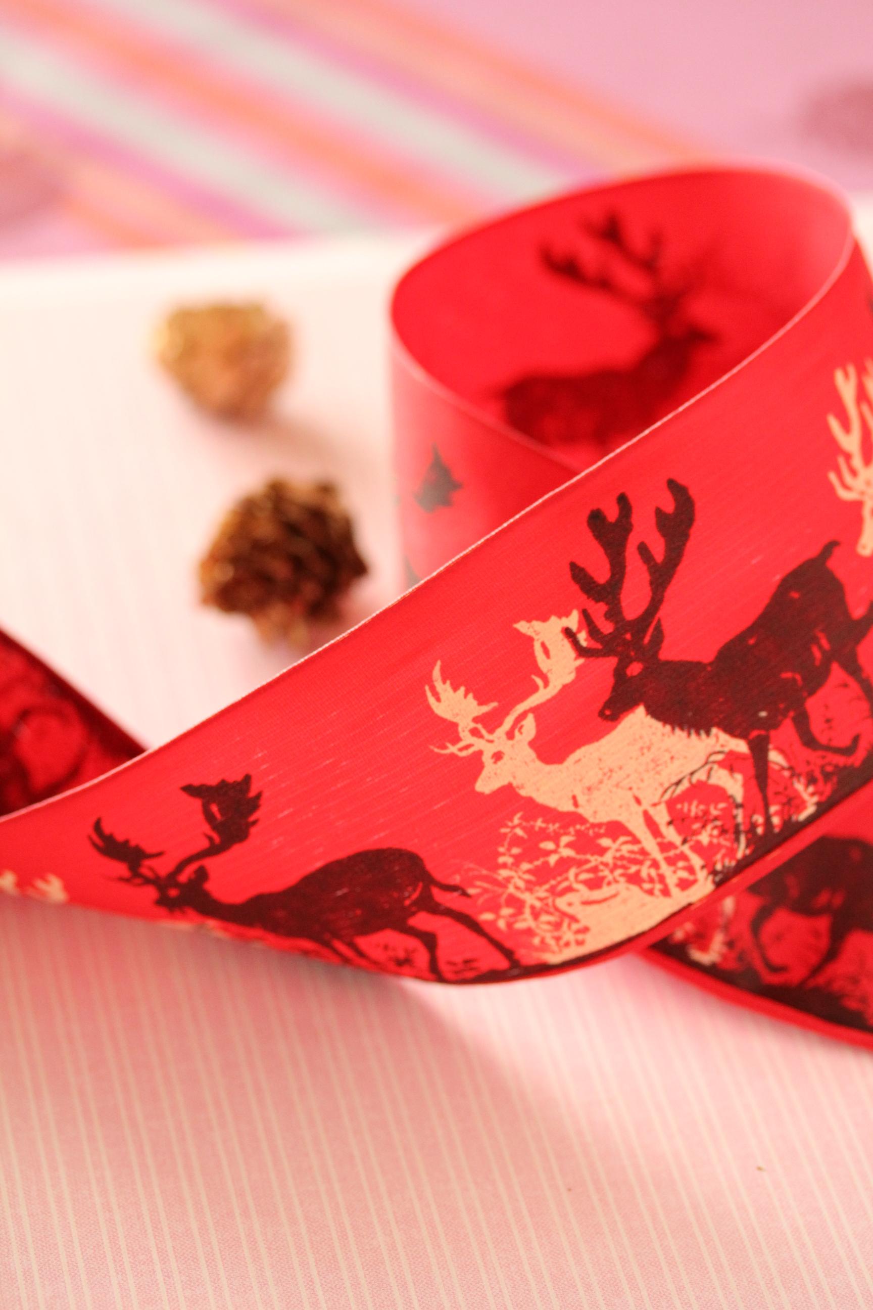 ドイツリボン・Winter Christmas 60ミリ幅