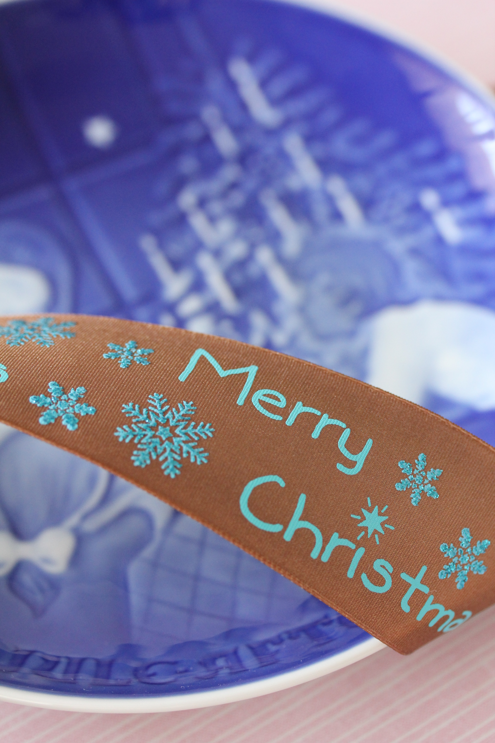 ドイツリボン・Merry Christmas 38ミリ幅