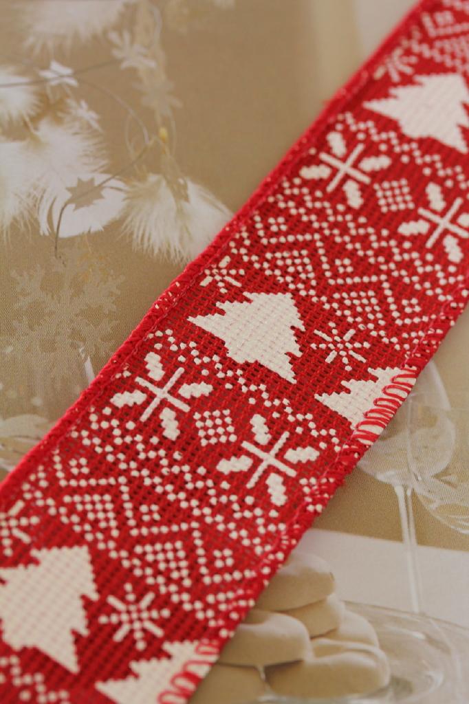 クリスマスリボン通販 リボン通販 ドイツ製リボン通販 ラテリエ デュ ルバン