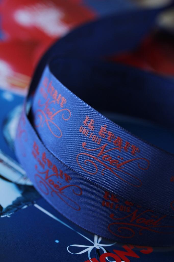 クリスマスリボン リボン通販 フランス製リボン通販 オリオール&フォンタネル社 ラテリエ デュ ルバン