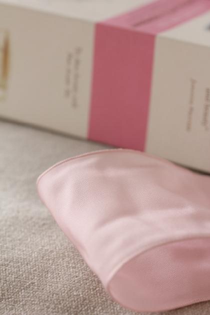 フランス製ワイヤーリボン・スタンダード・Pastel Pink 68ミリ幅