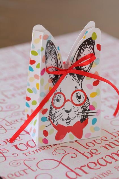 フランス雑貨  Gift Box ラパン