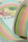 ドイツリボン・4 colored Stripe 40ミリ幅