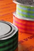ドイツリボン・ギンガムチェック New 3colors 25ミリ幅