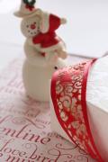 ドイツ・スペシャルリボン・Cut ribbon クリスマス 38ミリ幅
