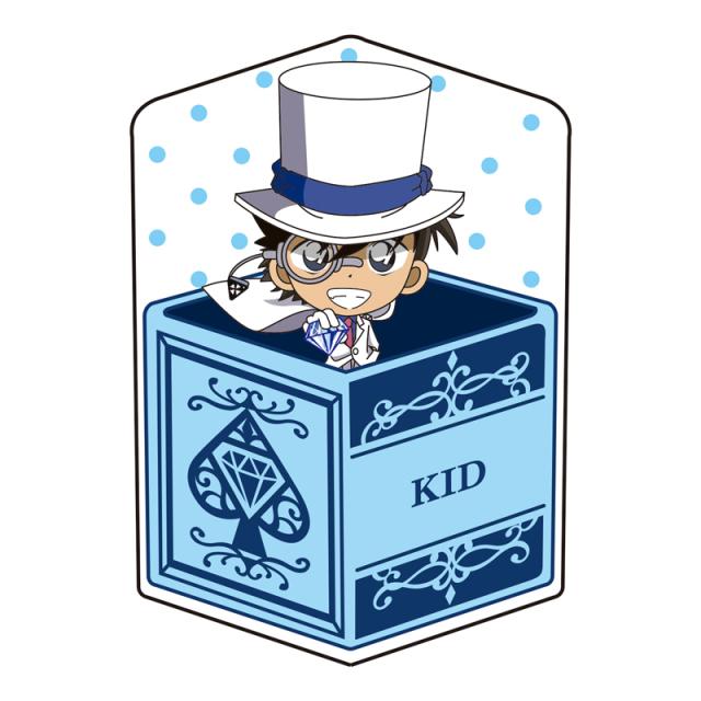 名探偵コナン キャラ箱クッションVol.6 キッド追跡コレクション 怪盗キッド(お宝ゲット)