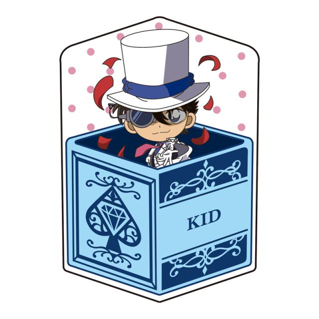 名探偵コナン キャラ箱クッションVol.6 キッド追跡コレクション 怪盗キッド(マジック)