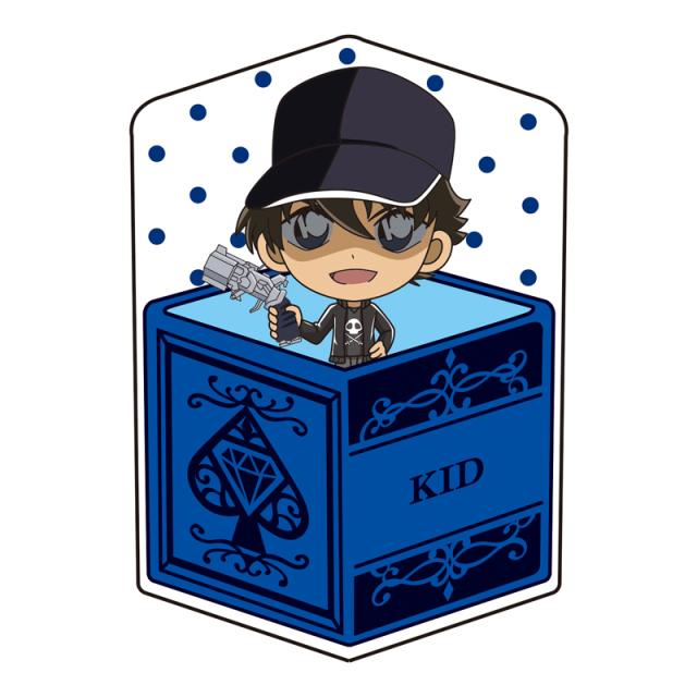 名探偵コナン キャラ箱クッションVol.6 キッド追跡コレクション 怪盗キッド(変装前)