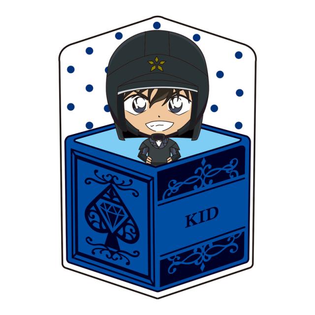 名探偵コナン キャラ箱クッションVol.6 キッド追跡コレクション 怪盗キッド(機動隊)