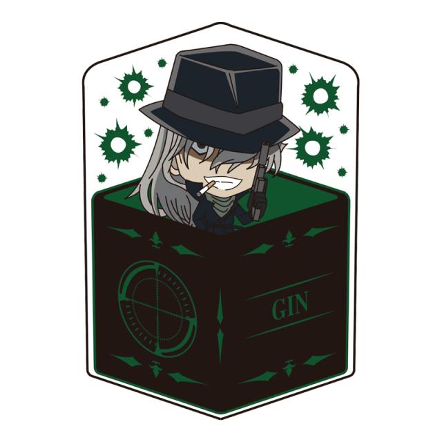 名探偵コナン キャラ箱クッションVol.7 スナイパーコレクション ジン