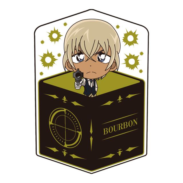 名探偵コナン キャラ箱クッションVol.7 スナイパーコレクション バーボン