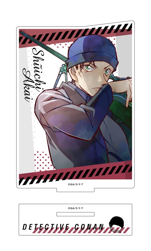 【4月下旬発売予定】名探偵コナン アクリルスタンド PALE TONE series 赤井秀一