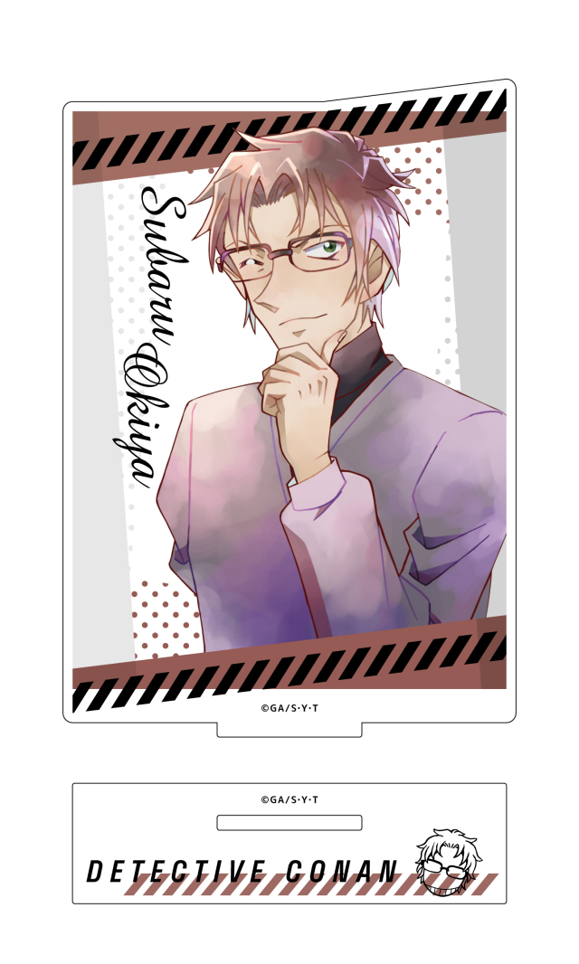 【4月下旬発売予定】名探偵コナン アクリルスタンド PALE TONE series 沖矢昴