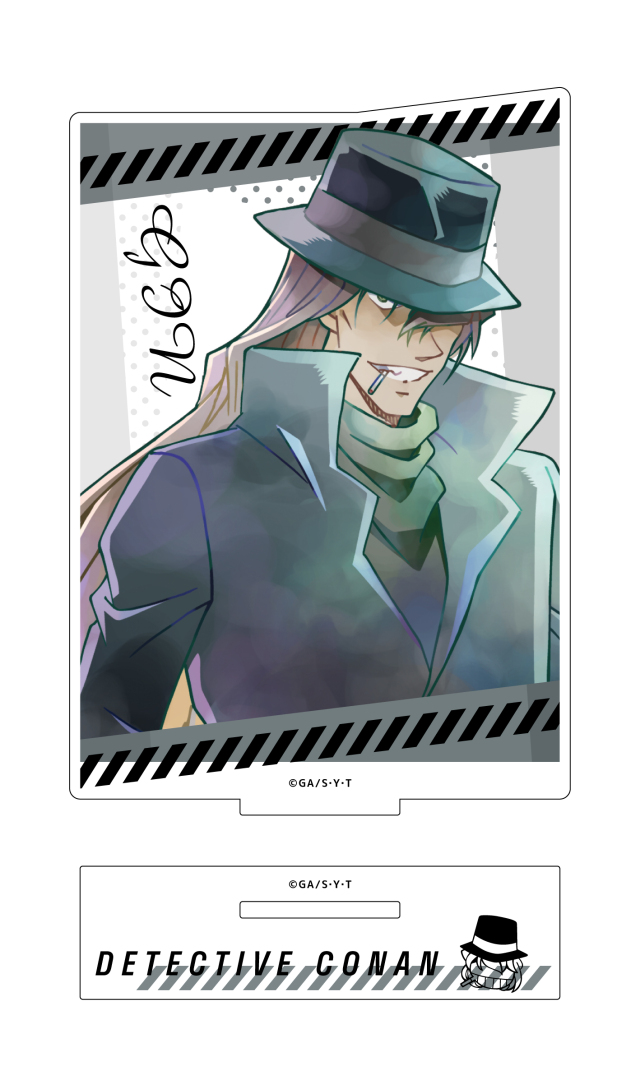 【4月下旬発売予定】名探偵コナン アクリルスタンド PALE TONE series ジン