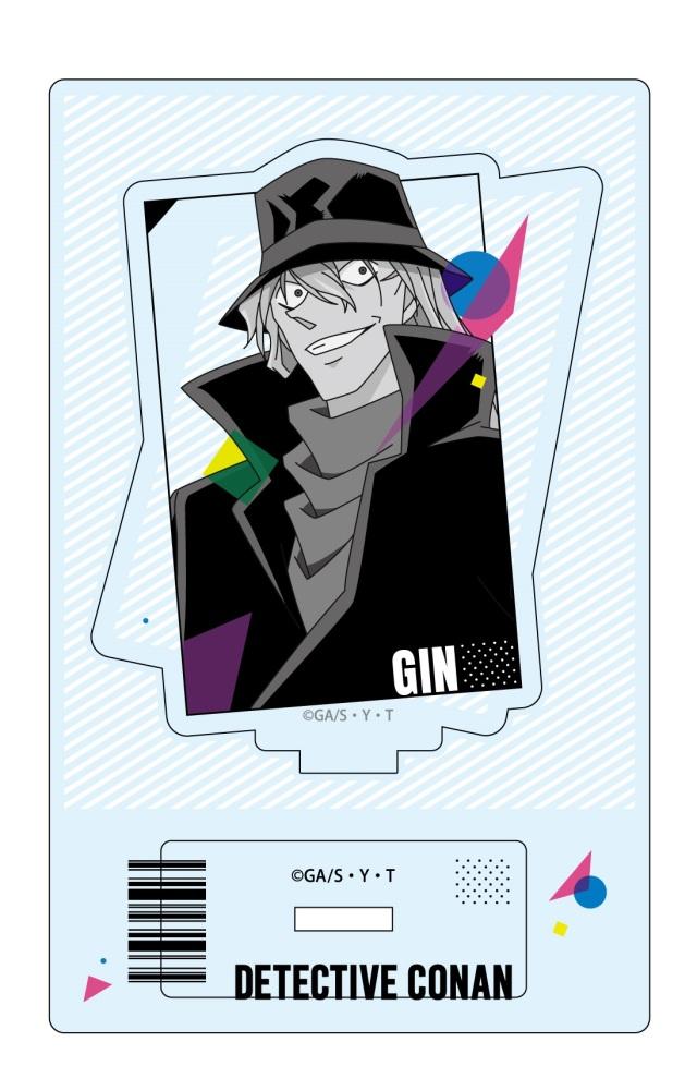 【3月中旬発売予定】名探偵コナン アクリルスタンド ジン