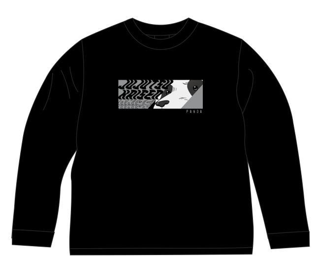 【2021年7月下旬発売予定】TVアニメ「呪術廻戦」 ロングTシャツ パンダ 描き下ろし ver. M