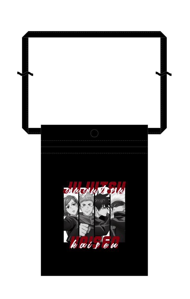 【2021年7月下旬発売予定】TVアニメ「呪術廻戦」 サコッシュ A 描き下ろし ver.