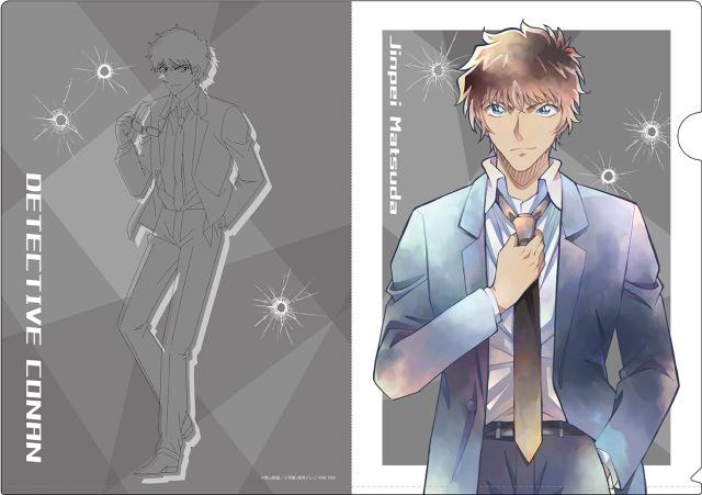 【2021年10月中旬発売予定】名探偵コナン クリアファイル PALE TONE series 松田陣平