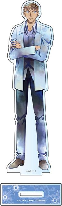 【2021年10月下旬発売予定】名探偵コナン デカアクリルスタンド PALE TONE series 諸伏景光