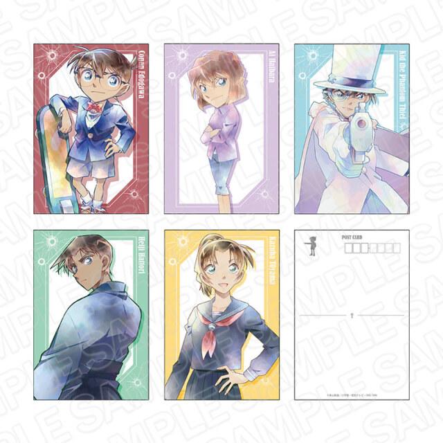 【12月上旬発売予定】名探偵コナン ポストカードセット PALE TONE series A