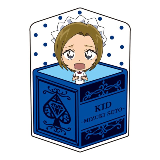 名探偵コナン キャラ箱クッションVol.6 キッド追跡コレクション 怪盗キッド(瀬戸瑞紀)
